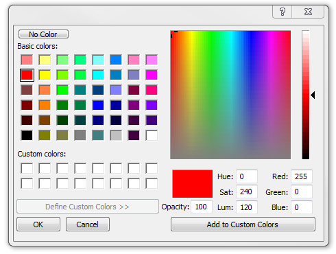 Colour Select
